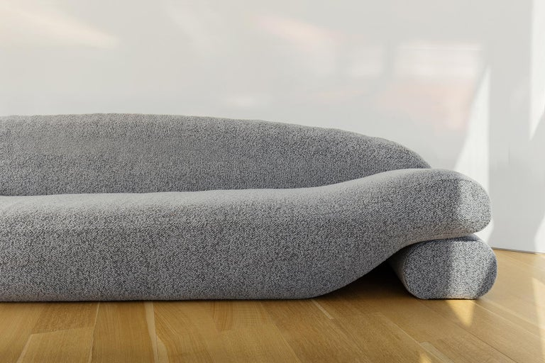 American Contemporary Eco-friendly Ergonomic Beanbag Beanie Sofa With Integrated Daybeds  For Sale