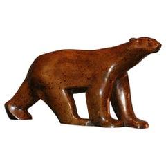 Bear in Bronze Sculpture 1955/1960