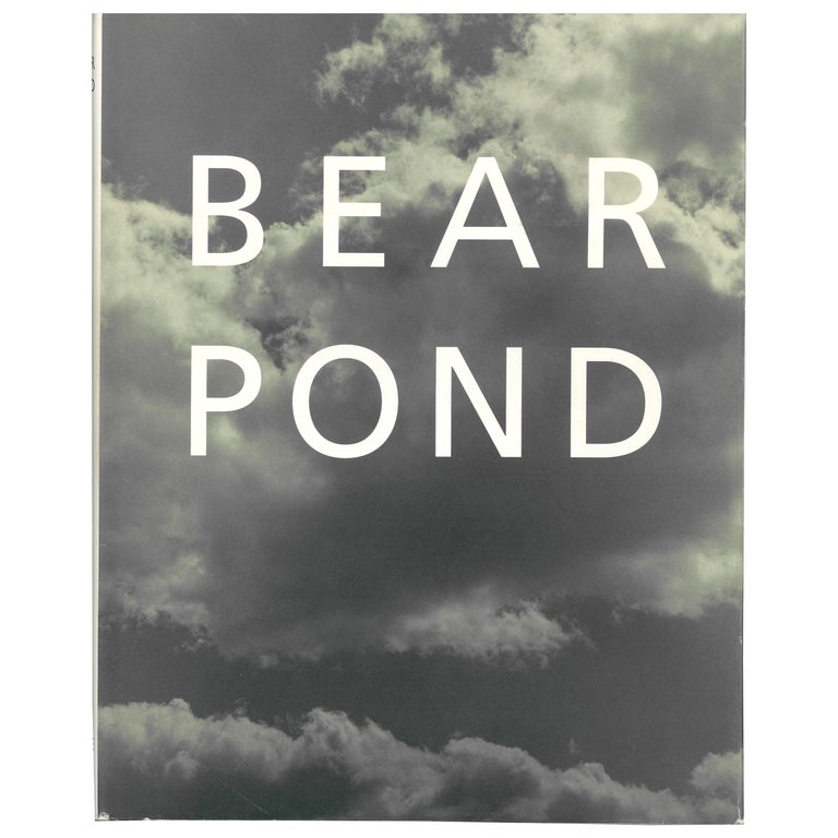 Bear Pond, Book of Photographs by Bruce Weber For Sale