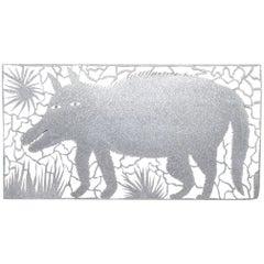 """""""Beast"""" Metalcut by Allan Winkler"""