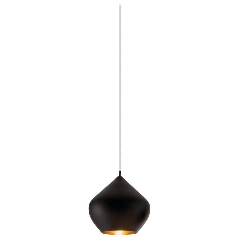For Sale: Black (black.jpg) Beat Stout Pendant Light by Tom Dixon