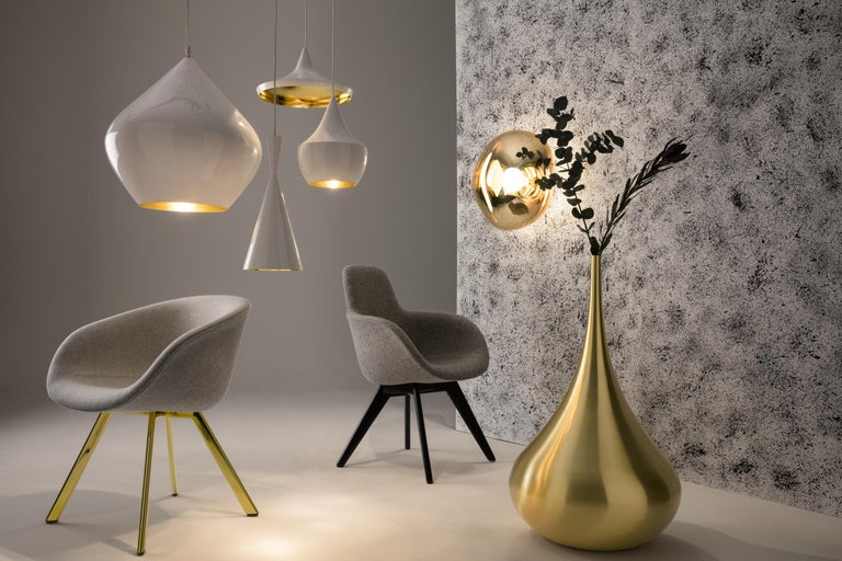 Contemporary Beat Tall Pendant Light by Tom Dixon For Sale