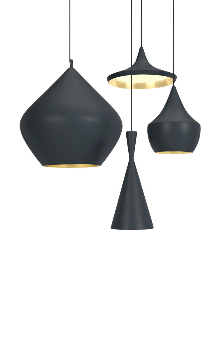 Modern Beat Wide Pendant Light by Tom Dixon For Sale