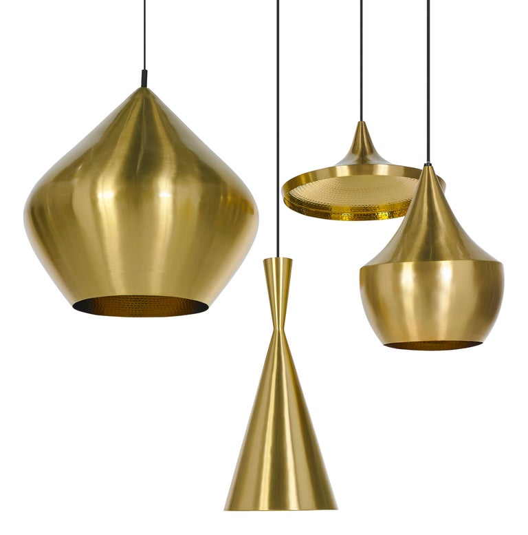 Indian Beat Wide Pendant Light by Tom Dixon For Sale