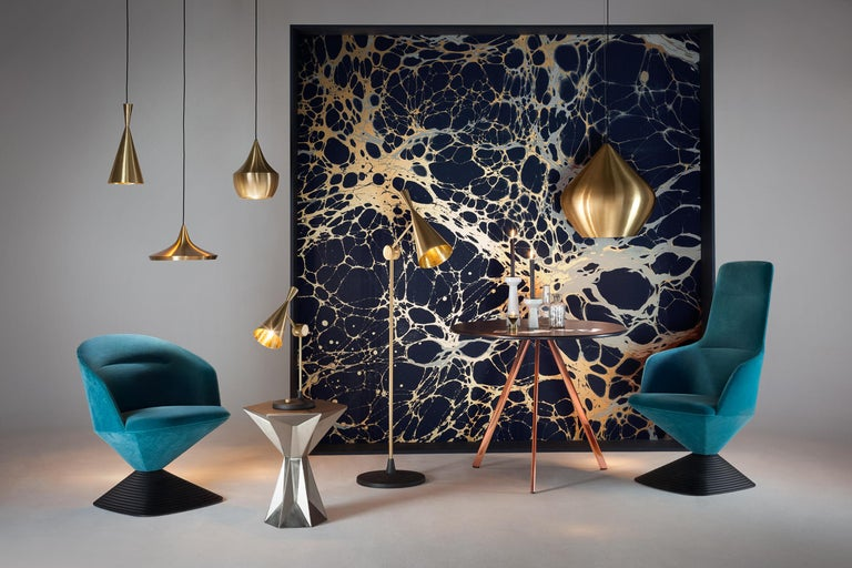 Contemporary Beat Wide Pendant Light by Tom Dixon For Sale