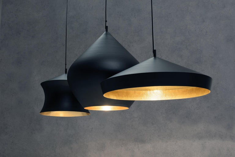 Beat Wide Pendant Light by Tom Dixon For Sale 1