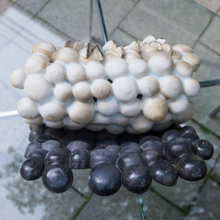 """Beate Kuhn Art Pottery """"Bodennebel vor Wald"""" 2000 For Sale 1"""