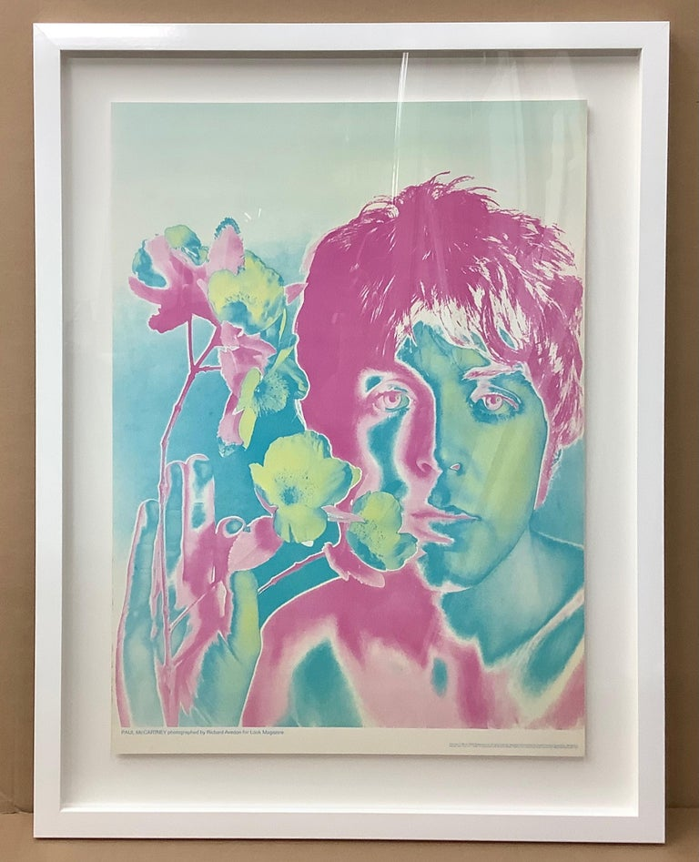 English The Beatles by Richard Avedon, Offset Lithographs, for Look Magazine For Sale