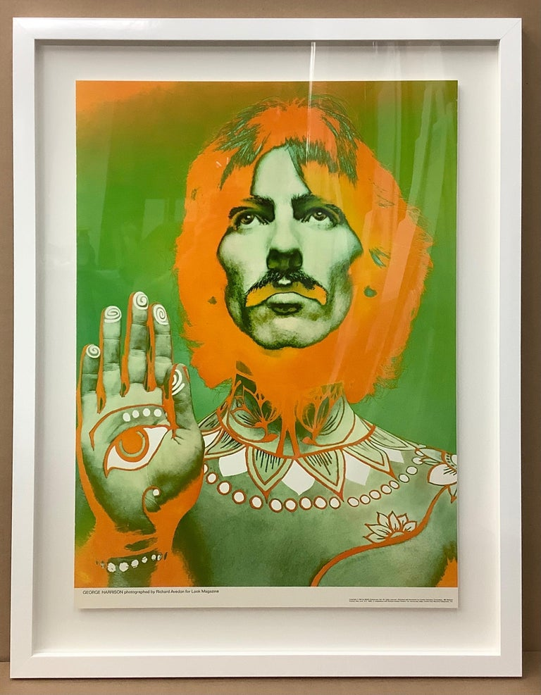 The Beatles by Richard Avedon, Offset Lithographs, for Look Magazine In Good Condition For Sale In New York, NY