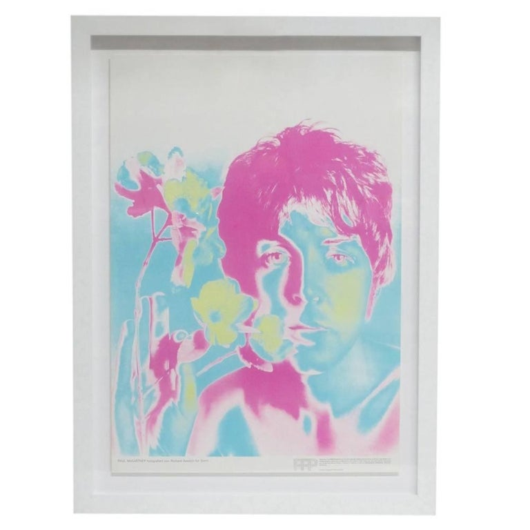The Beatles by Richard Avedon, Offset Lithographs, for Stern Magazine. The four offset lithographic posters are from the original 1967 printing. The edition size is unknown but very few sets survived in mint unused condition. Specifications: Each