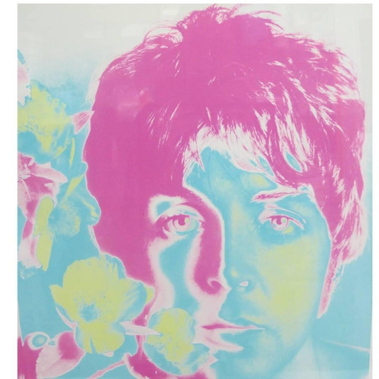 Paper The Beatles by Richard Avedon, Offset Lithographs, for Stern Magazine For Sale