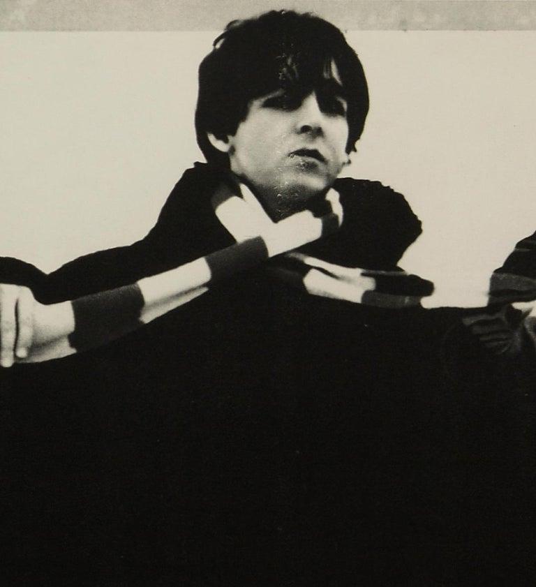 The Beatles 'Help!' Original Vintage Czech Movie Poster, 1967 In Good Condition In Devon, GB
