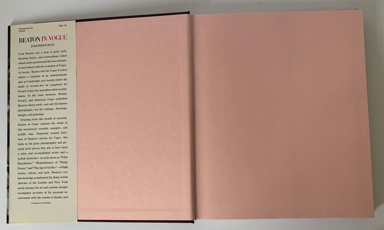 American Beaton In Vogue 1st Edition Hardcover Book For Sale