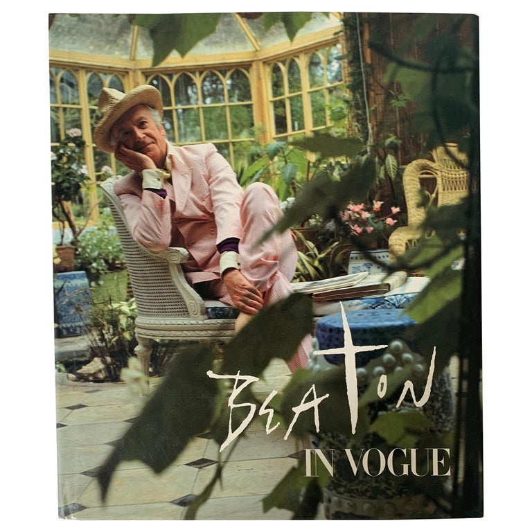 Beaton In Vogue 1st Edition Hardcover Book For Sale