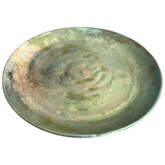 Beatrice Wood Iridescent Luster Glaze Earthenware Plate Low Bowl Charger