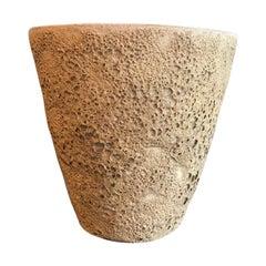 Beatrice Wood Large Quite Heavy Volcanic Glaze Bowl