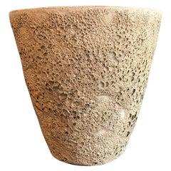 Beatrice Wood Large Quite Heavy Volcanic Glaze Mid-Century Modern Bowl