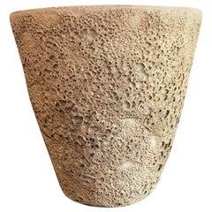 Beatrice Wood Signed Large Quite Heavy Volcanic Glaze Mid-Century Modern Bowl