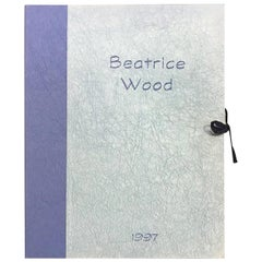 Beatrice Wood Signed Limited Edition Lithograph Portfolio American Crafts Museum