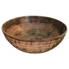 Beatrice Wood Signed Mid-Century Modern California Glazed Studio Ceramic Bowl