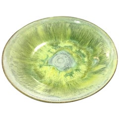 Beatrice Wood Signed Mid-Century Modern Multi-Glazed Colored Earthenware Bowl