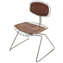 """""""Beaubourg Chair"""" by Michel Cadestin and Georges Laurent"""