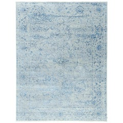 Beaufort Rug Transitional Design Allure Embossed Wool and Silk