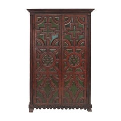 Beautiful 17th Century Spanish Baroque Walnut Cabinet