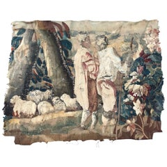 Beautiful 18th Century Aubusson Tapestry Fragment