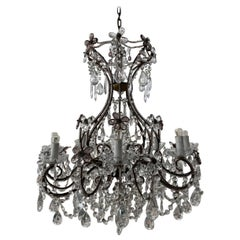 Beautiful 1920s French Chandelier