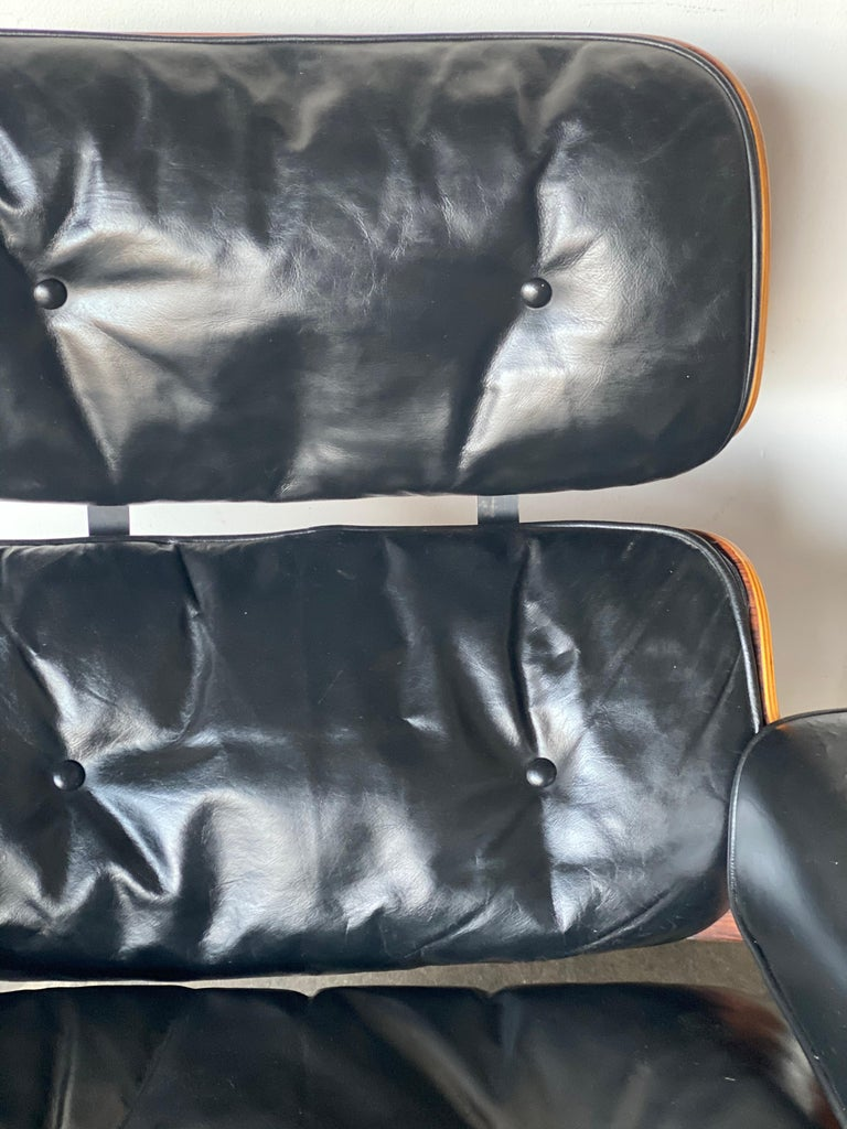 Beautiful 1960s Herman Miller Eames Lounge Chair and Ottoman 8