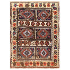 Beautiful 19th Century Anatolian Turkish Rug. Size: 5 ft 1 in x 6 ft 10 in