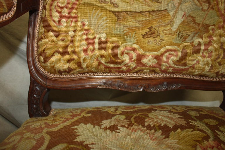 Beautiful 19th Century French Armchair For Sale 4