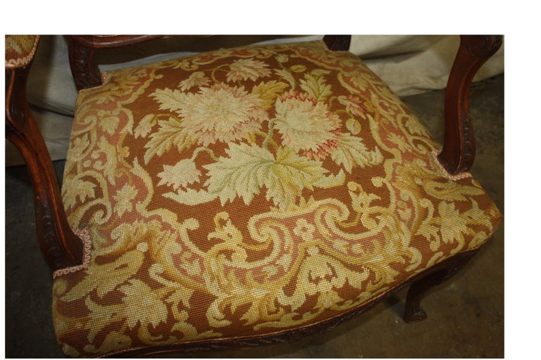 Beautiful 19th Century French Armchair For Sale 6