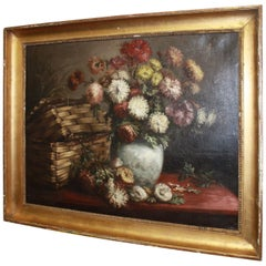Beautiful 19th Century French Oil on Canvas