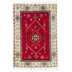 Beautiful 20th Century Moroccan Rabat Rug