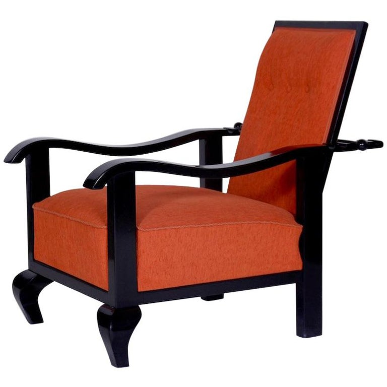Beautiful Adjustable Armchair, 1920 For Sale at 1stdibs