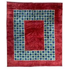 Beautiful Afghan Modern Design Rug