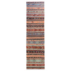Beautiful Anatolian Turkish Kilim Runner