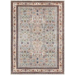 """Beautiful and Finely Woven Antique Turkish Sivas Rug. Size: 8' 6"""" x 11' 10"""""""