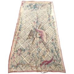 Beautiful Antique 18th Century Aubusson Tapestry