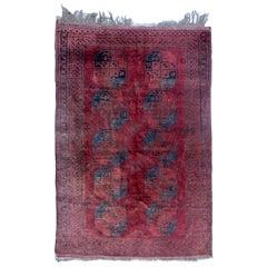 Beautiful Antique Afghan Rug
