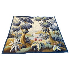 Beautiful Antique Aubusson Tapestry