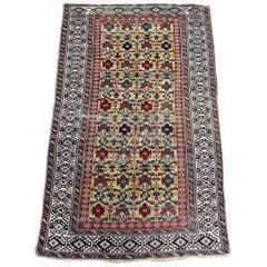 Beautiful Antique Caucasian Kouba Shirwan Rug