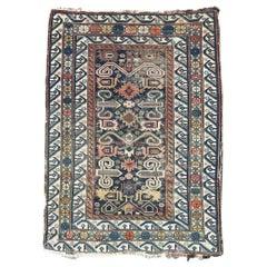 Beautiful Antique Caucasian Shirvan Perepedil Rug
