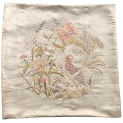 Beautiful Antique Chinese Silk Embroidery