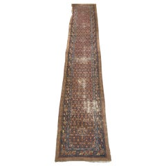 Beautiful Antique Distressed Serab Runner