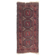 Beautiful Antique Fine Turkmen Tribal Rug