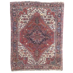 Beautiful Antique Heriz Style Rug