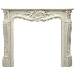 Beautiful Antique Louis XV Fireplace Mantel